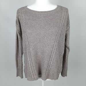 American Eagle High Low Knit Sweater